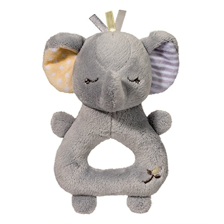 Grey Elephant Rattle
