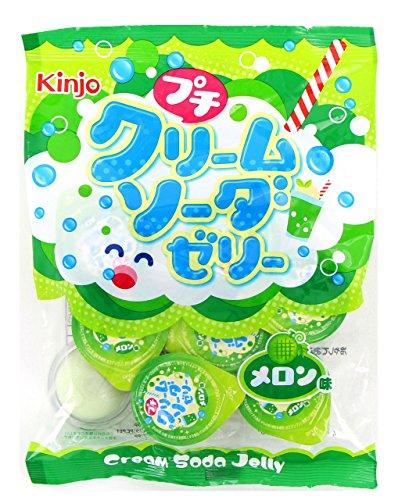 金城製菓 プチクリームソーダゼリーメロン味 16g×9個×20袋