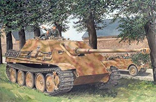 1/35 WW.II ドイツ軍 ヤークトパンター駆逐戦車 G1 初期型 w/ツィメリットコーティング  DR6494  ドラゴンモデル  DR6494 ドイツ ヤークトパンター ツィメリット  B