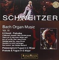 Orgelmusik 3: 6 Choral by SCHWEITZER ORGAN VOL 3