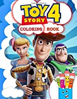 Toy Story 4 Coloring Book: Toy Story Coloring Book For Kids Ages 4-8