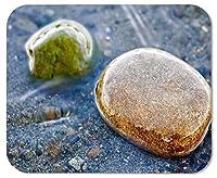 川のゲーミングマウスパッド石カスタマイズされた四角形の滑り止めゴムマウスパッドゲーミングマウスパッド