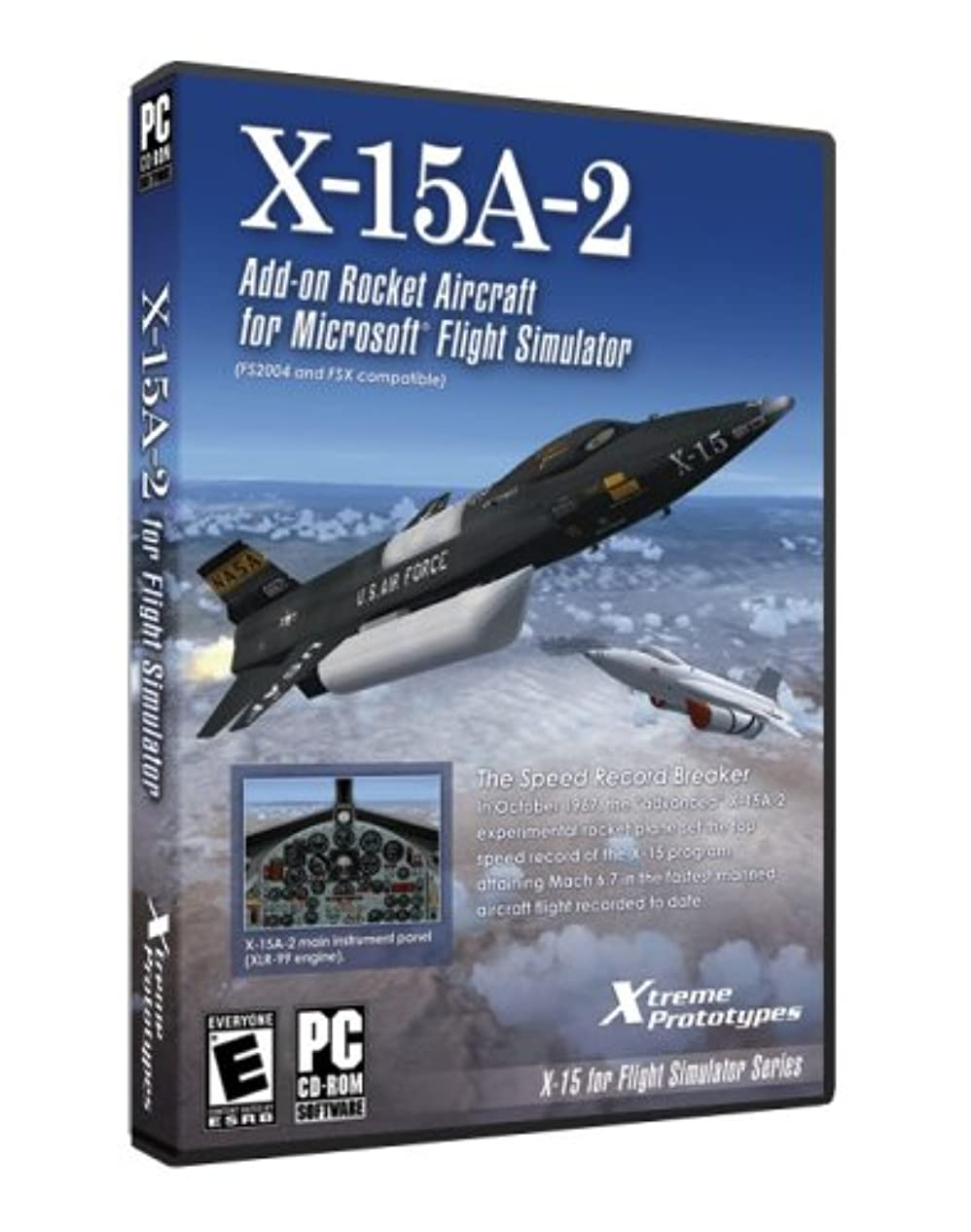 X-15A-2 Expansion Rocket Aircraft for FSX (輸入版)