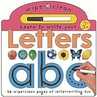 Letters: Wipe Clean Learning