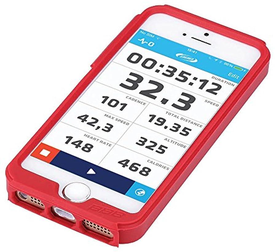 パーツおとこシャープBBB サイクルコンピューターパーツ スマートフォン マウントスリーブ パトロンI5用 レッド BSM-31 002503