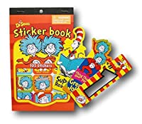 Dr Seuss Cat in the Hat Deluxe School and Activity Set - Stickers and Bookmarks [並行輸入品]