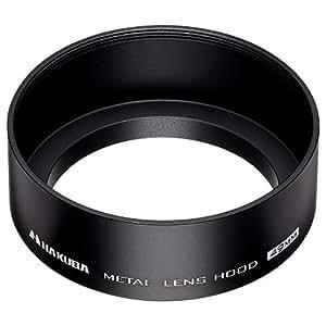 HAKUBA レンズフード メタルレンズフード 高強度6000系アルミニウム合金製 49mmフィルター径装着用 ブラック KMH-49