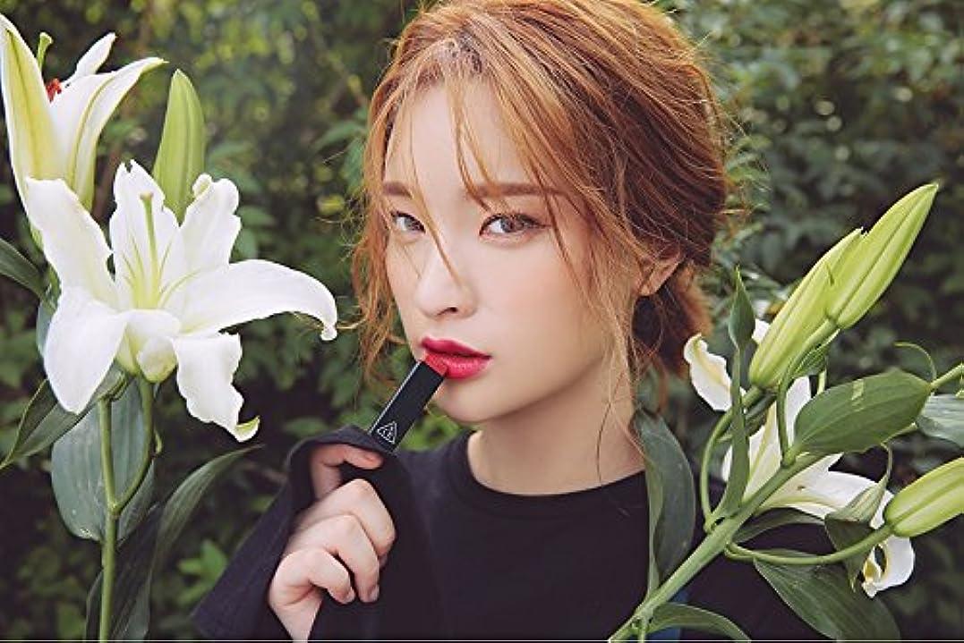 疑問に思う十二悪用3CE スロージャム三角形口紅 3 Concept Eyes Style Nanda Glow Jam Stick Triangle Lipstick (正品?海外直送品) (Very Berry)