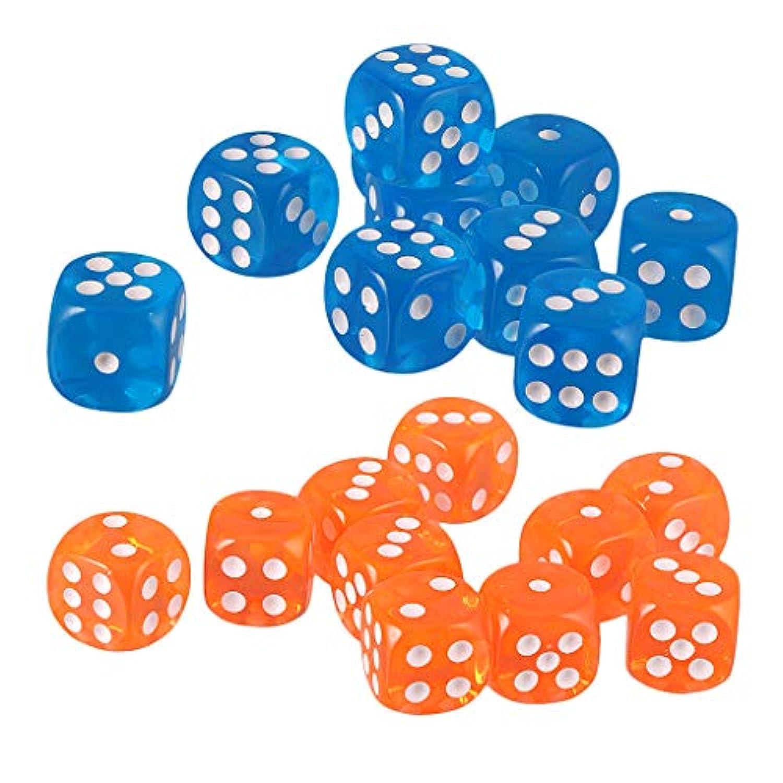 KESOTO 約20枚 ダイス 6面 サイコロ 多面ダイス テーブルゲーム用