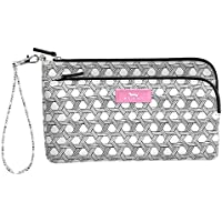 SCOUT Kelly Wristlet, Lightweight Wristlet Wallet for Women, Water-Resistant Clutch Wristlet with 2 Compartments and Strap (Multiple Patterns Available)