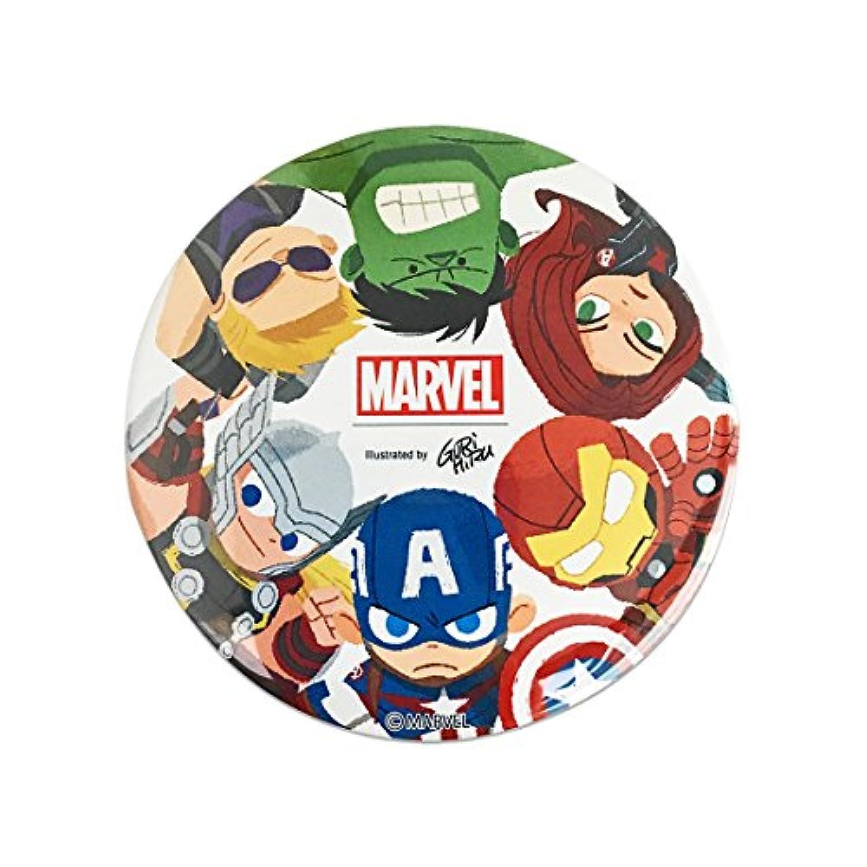 マーベル 缶バッチ φ7.5cm Avengers SPTB575