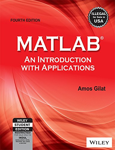 Download MATLAB: An Introduction with Applications 8126537205
