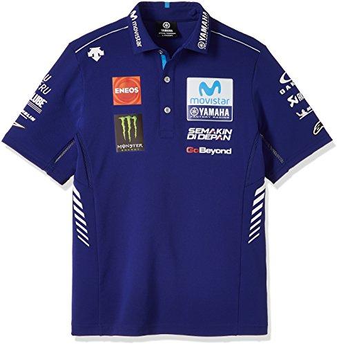 ヤマハ(YAMAHA) ポロシャツ MotoGP ヤマハ ファクトリーレーシング オフィシャルチーム...