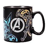 Marvel Comics Heat Change Mug Avengers Half Moon CALICI TAZZE