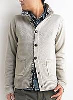 (アーケード) ARCADE 4color ニット カーディガン ジャガード織り ニットジャケット