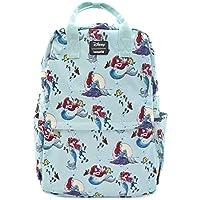 Loungefly x Disney Little Mermaid Ariel Scenes Nylon Backpack