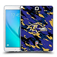 オフィシャル NFL カモフラージュ ボルティモア・レイブンズ ロゴ Samsung Galaxy Tab A 9.7 専用ソフトジェルケース