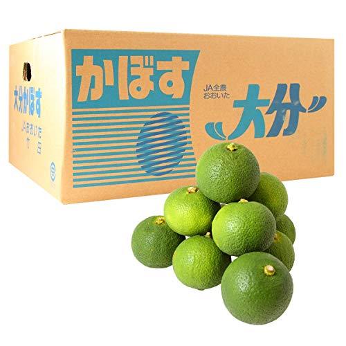 大分竹田産かぼす青果1箱 4Kg(秀品)(送料無料)(受注発注商品)(貯蔵カボス)