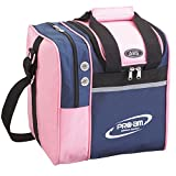 ABS ボウリング バッグ B16-300 ピンク/ネイビー ボール1個用バッグ ボウリング用品 ボーリング グッズ