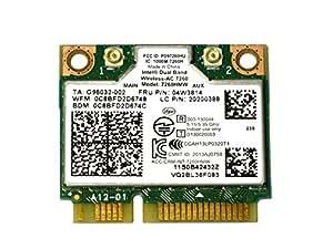 Lenovo純正 04W3814/04X6010 Intel Dual Band Wireless-AC 7260 867Mbps 802.11ac + Bluetooth 4.0 無線LANカード 7260HMW for Thinkpad Y410P Y510P E440 E540 S440 S540 Z410 K4350 K4250 ThinkCentre E73z M73z E93z