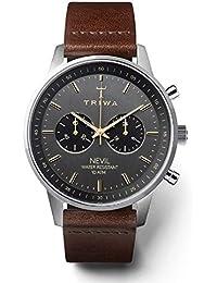 [トリワ] TRIWA 腕時計 NEST114.CL010412 NEVIL(ネヴィル・クロノグラフ)(女子にも人気) メンズ [並行輸入品]
