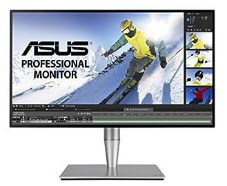 ASUS ディスプレイ モニター 27型ワイド(IPS/2560x1440/最大表示色:約1677万色/フリッカーフリー/ブルーライト軽減) PA27AC
