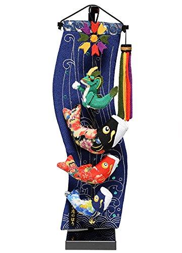 【五月人形】【室内鯉のぼり】室内鯉幟:登竜門伝説(特小)【つ...