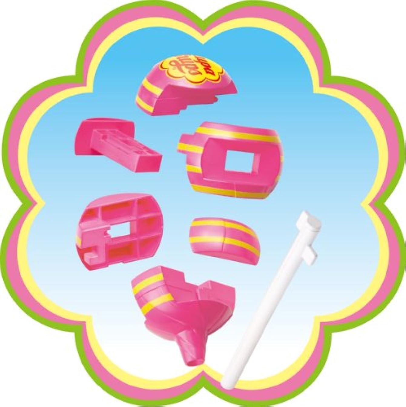 光デンプシー咽頭チュッパチャップスパズル ストロベリークリーム(ヒラメキ)