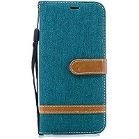 Lomogo Huawei Mate20 Pro ケース 手帳型 耐衝撃 レザーケース 財布型 カードポケット スタンド機能 マグネット式 ファーウェイMate20Pro 手帳型ケース カバー 人気 - LOBFE13734 緑