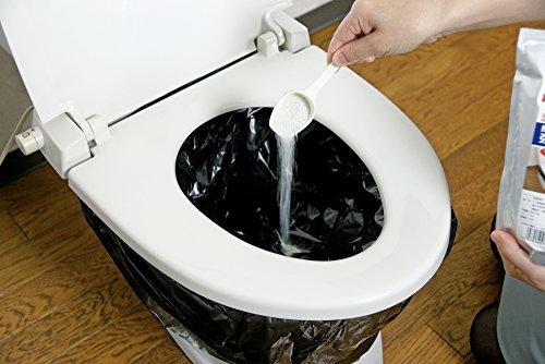アズマ 簡易トイレ凝固・消臭剤 粉末タイプ CH888