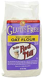 Bob's Red Mill Gluten Free Oat Flour (400g) ボブの赤いミルグルテンフリーのオート麦粉( 400グラム)