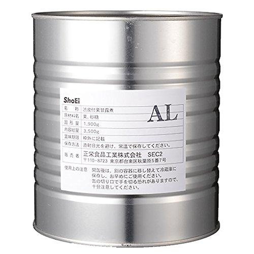渋皮付 栗甘露煮1号缶(L) / 3.5kg TOMIZ/cuoca(富澤商店) 栗・芋・かぼちゃ 栗甘露煮・栗渋皮煮