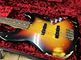 Fender Custom Shop Jaco Pastorius Tribute Jazz Bass - Three Color Sunburst