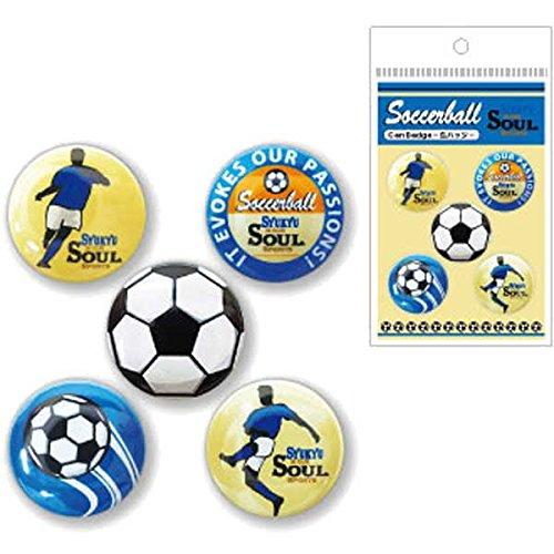 [해외]BUKATSU 동아리 SOUL 캔 배지 1508/BUKATSU club activity SOUL can badge 1508