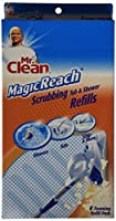 32 COUNT Mr. Clean Magic Reach Scrubbing Tub and Shower Pads, 4 Pack- 8 count ea = 32 refills MagicReach by Butler Home Products