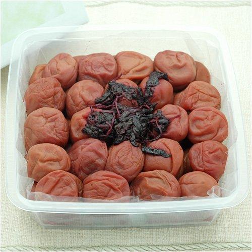 紀州 南高梅 (しそ漬梅干) 1kg [訳あり]