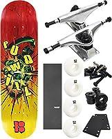 """Plan B Skateboardsピンミニスケートボード7.6"""" X 30.25"""" Complete Skateboard–7項目のバンドル"""