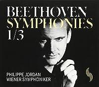 ベートーヴェン:交響曲 第1番/第3番「英雄」[日本語解説付]