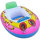 ベビーフロートボートスイムリングフロートインフレータブル調節可能な安全補助具リング2-5Yrs