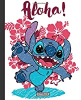 Notebook: Cartoon Lilo & Stitch Funny Animation Color  Writing Workbook for Teens & Children, ... Students, School Kids Graph Paper Pages Book 7.5 x 9.25 Inches 110 Pages