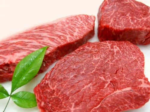 ギフト用 厳選 【 黒毛和牛 メス牛 限定 】 3食 ランプ ステーキ 6枚 セット 【木箱詰め】