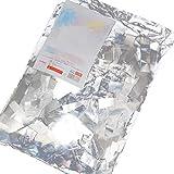 Exproud製 スノーホイル 紙吹雪 Silver 銀 1kg 長時間滞空タイプ 結婚式・パレード・表彰式・パーティーや舞台公演等を華やかに演出します Exproud(エクスプラウド) Exproud_SnowFoil_Silver_1kg_01