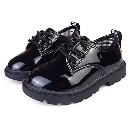 (チェリーレッド)CherryRed 子供靴 フォーマルシューズ エナメル オックスフォード 19cm
