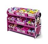ディズニー ミニーマウス デラックス 9ビン おもちゃ箱 【84407】 [並行輸入品]