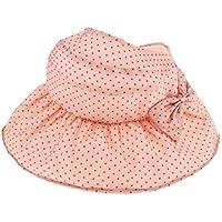Fenteer 帽子 日よけ サンハット フラップ付 UV ベビー 赤ちゃん 子供 キッズ 女の子  首焼け防止 紫外線防止 全5色