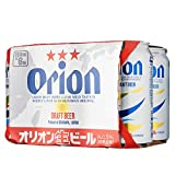 Orion Draft Beer Can, 350ml (Pack of 6)