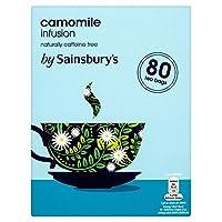 Sainsbury's Camomile Tea Bags x80 160g - (Sainsbury's) カモミールティーバッグのX80の160グラム [並行輸入品]