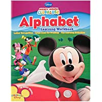 Mickey Mouse Alphabet Learning Workbook