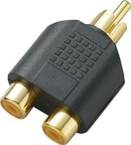 KC 変換コネクター RCA(F)X2/RCA(M) CC319