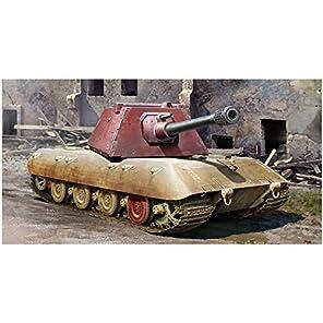トランペッター 1/35 ドイツ軍 E-100超重戦車 クルップ砲塔 プラモデル 09543